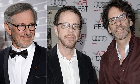 Los hermanos Coen escribirán el guión del próximo film de Spielberg