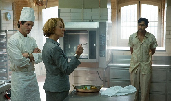 Helen Mirren dirige un restaurante en 'The hundred-foot journey'