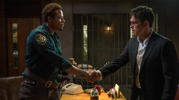 Matt Dillon y Terrence Howard en 'Wayward Pines'