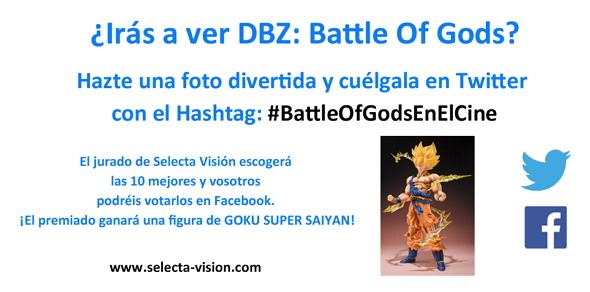 DBZ Battle of Gods Concurso
