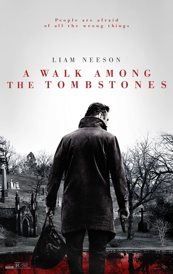 Póster de 'A walk among the tombstones'