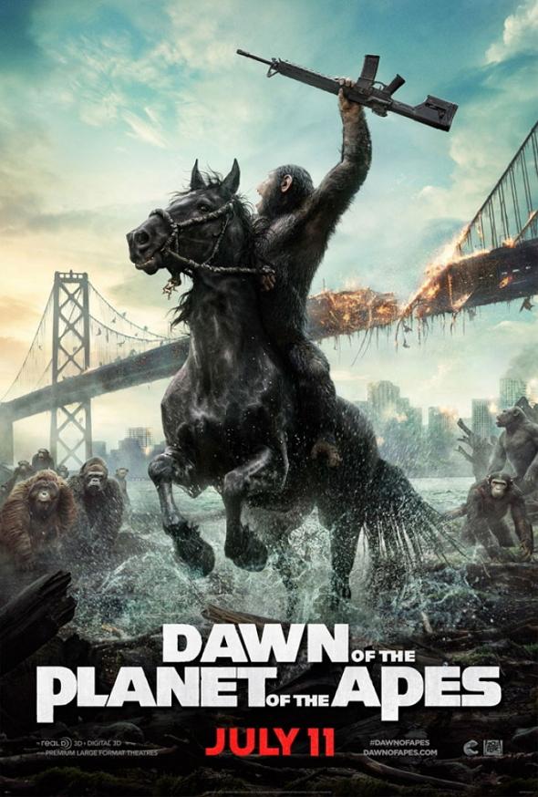 'El amanecer del planeta de los Simios (Dawn of the planet of the Apes)'