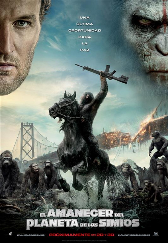 El amanecer del planeta de los Simios (Dawn of the planet of the Apes)