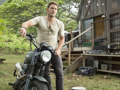 Chris Pratt en 'Jurassic World'