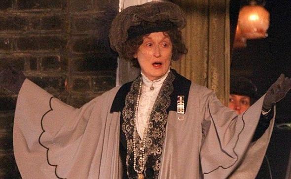 Meryl Streep encarna a Emmeline Pankhurst en 'Sufragette'