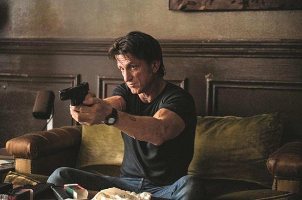 Sean Penn en 'The gunman'