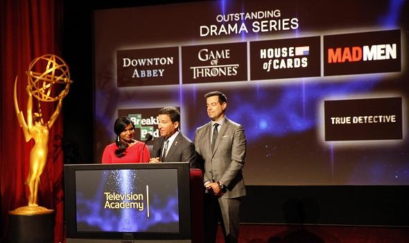 Anuncio de los Premios Emmy 2014