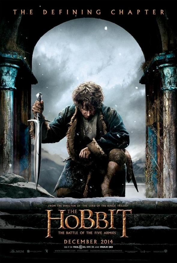 Nuevo póster de 'El Hobbit: La batalla de los cinco ejércitos'