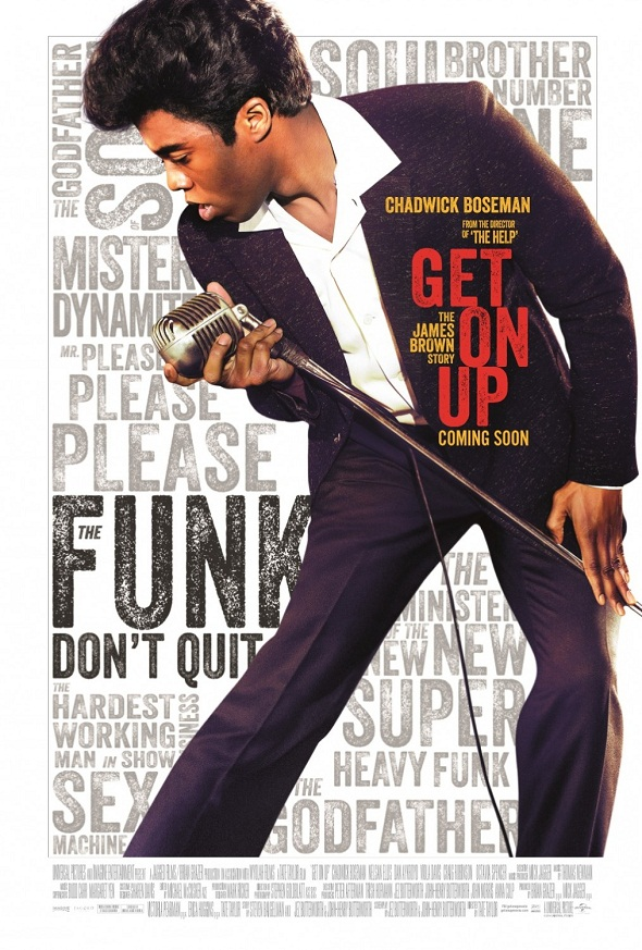 Póster internacional de 'Get on up'