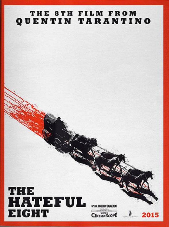 Primer póster de 'The hateful eight'