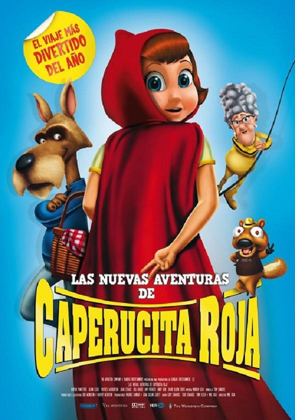 Póster de Las nueva aventuras de Caperucita Roja