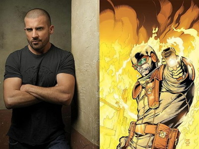 Dominic Purcell será Heat Wave