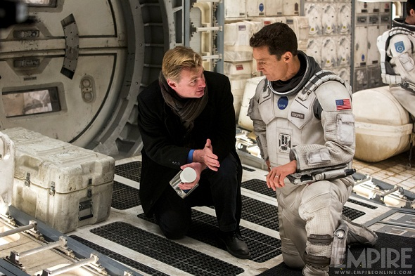 Christopher Nolan dirige a Matthew McConaughey en 'Interstellar'