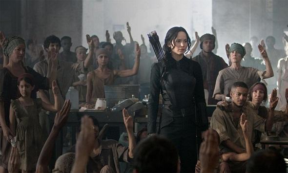 Jennifer Lawrence lidera la rebelión en 'Los juegos del hambre: Sinsajo.- Parte 1'