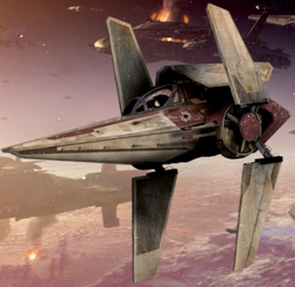 Star Wars V-Wing Fighter Concept Art