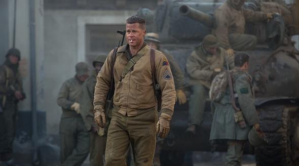 Brad Pitt vuelve a la II Guerra Mundial