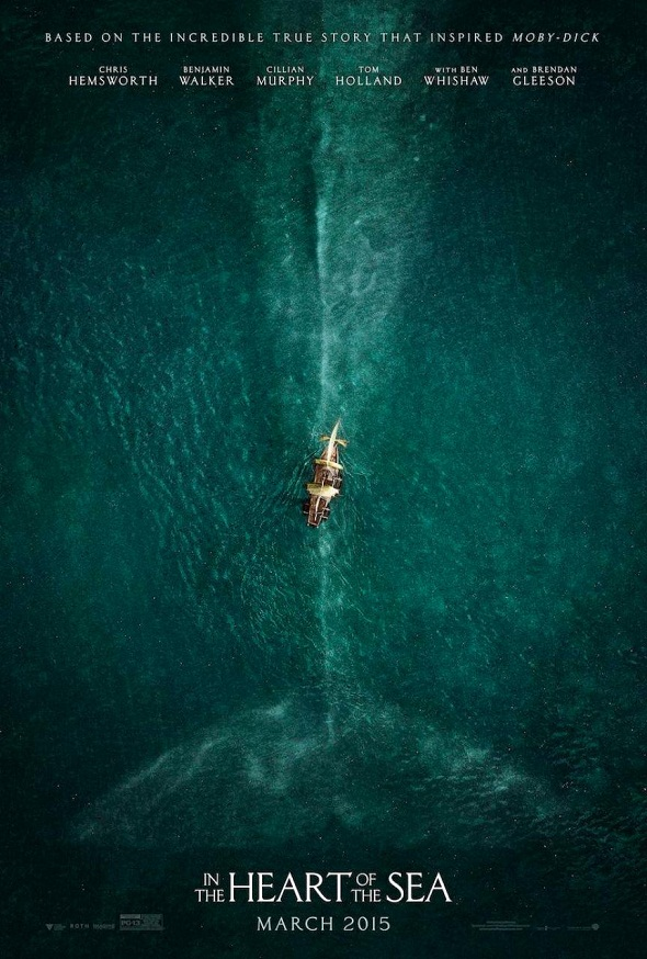 Póster de 'In the heart of the sea'