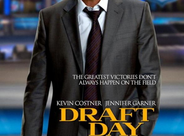 Cartel de la película 'Draft Day', con Kevin Costner