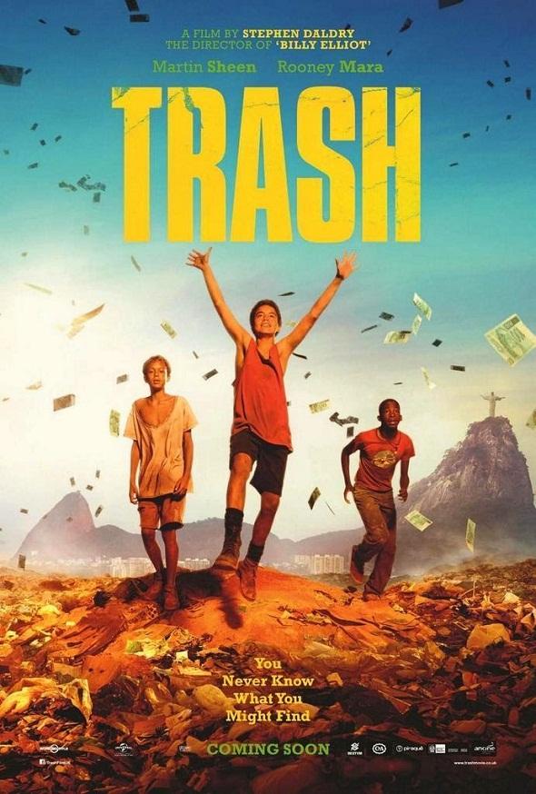 Póster de Trash, ladrones de esperanza, de Stephen Daldry
