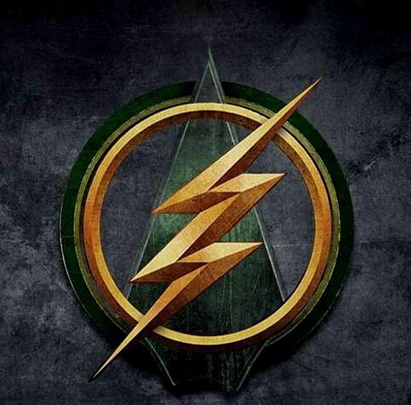 Logo del episodio crossover entre 'Arrow' y 'The Flash'