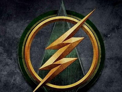 Logo del crossover de The Flash vs Arrow