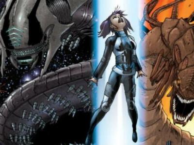 Una imagen del cómic 'Drafted', que se convertirá en película