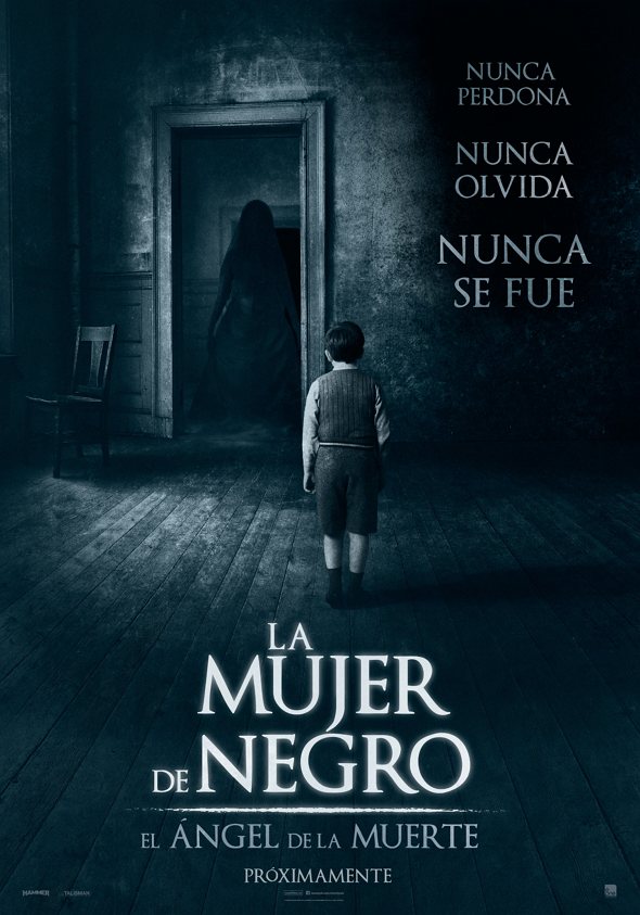 Póster en español de La mujer de negro: el ángel de la muerte (The Woman in black: Angel of Death)