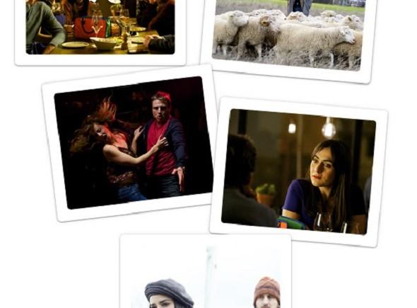Las ovejas no pierden el tren. Imágenes de la película.