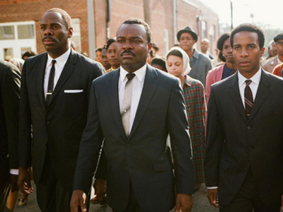 David Oyelowo (centro) es Martin Luther King en 'Selma'