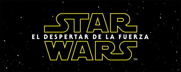Imagen del Logo de Star Wars: El despertar de la fuerza