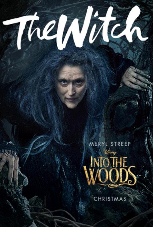 Póster de Meryl Streep para 'Into the woods'