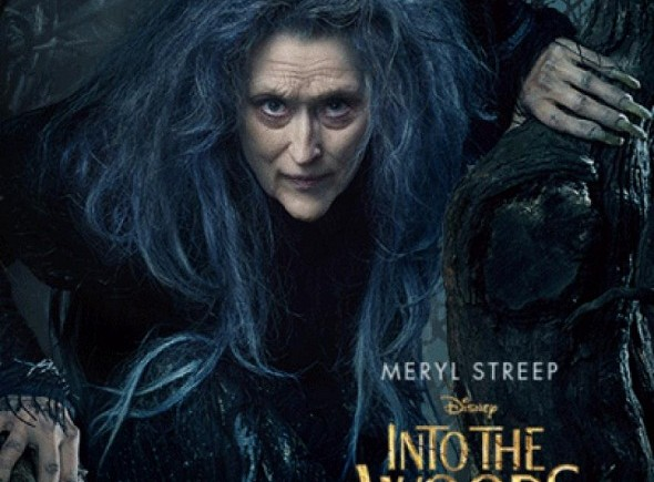 Meryl Streep interpreta a la bruja en 'Into the woods'