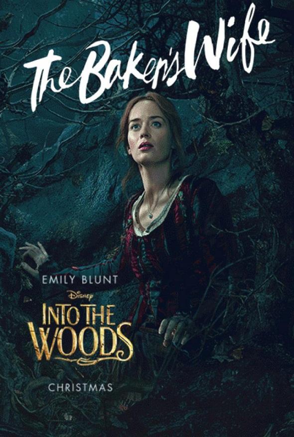 Emily Blunt también protagoniza 'Into the woods'