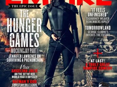 Los juegos del hambre: Sinsajo (Parte I). Katniss Everdeeen en la portada de Empire