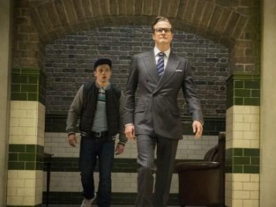 Colin Firth guía a su nuevo discípulo en 'Kingsman: Servicio secreto'