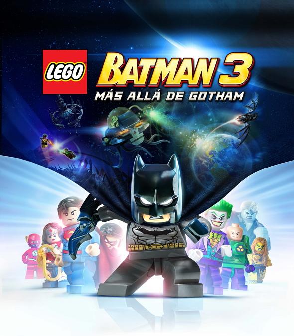 Póster del videojuego LEGO Batman 3: Más Allá de Gotham