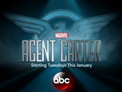Logotipo de la serie Agente Carter (Marvel`s Agent Carter)