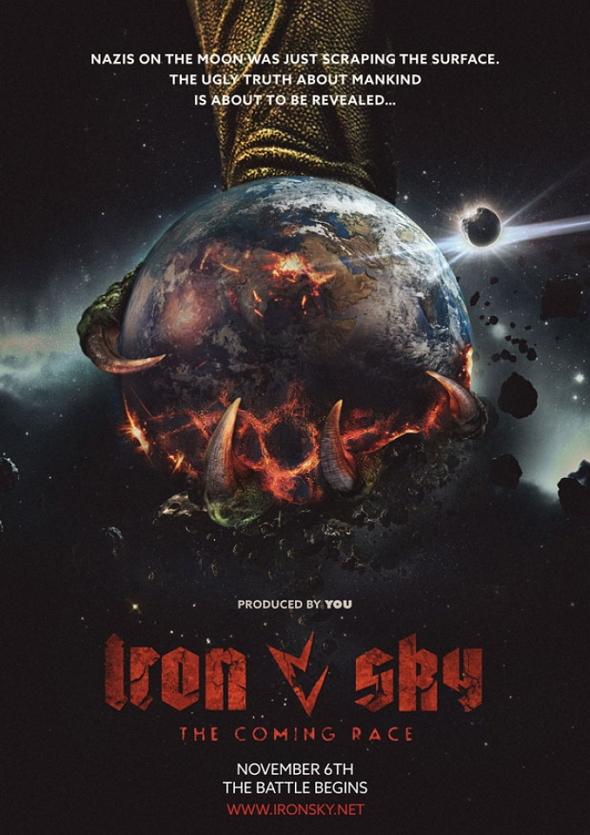 Póster de la película 'Iron Sky: The Coming Race'