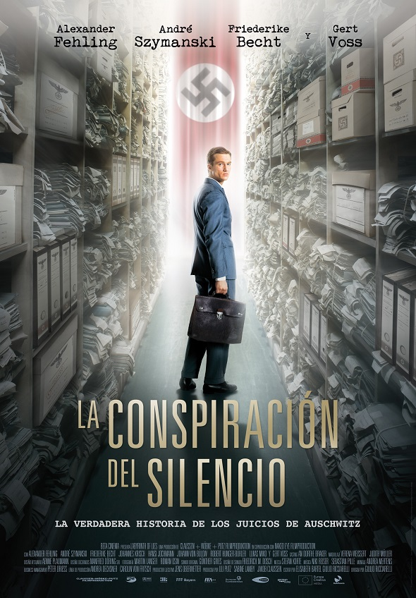 Póster de La conspiración del silencio