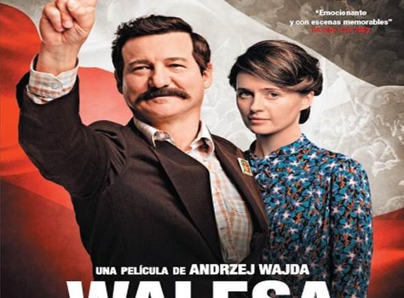 Póster en español para Walesa, la esperanza de un pueblo. Poster en español
