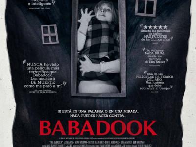 Poster de 'Babadook'.