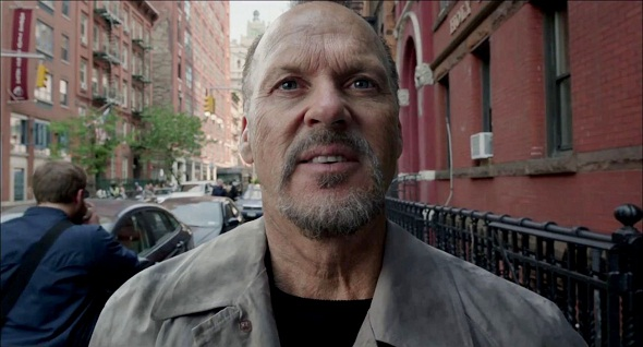 ...compartiendo premio con Michael Keaton por 'Birdman'