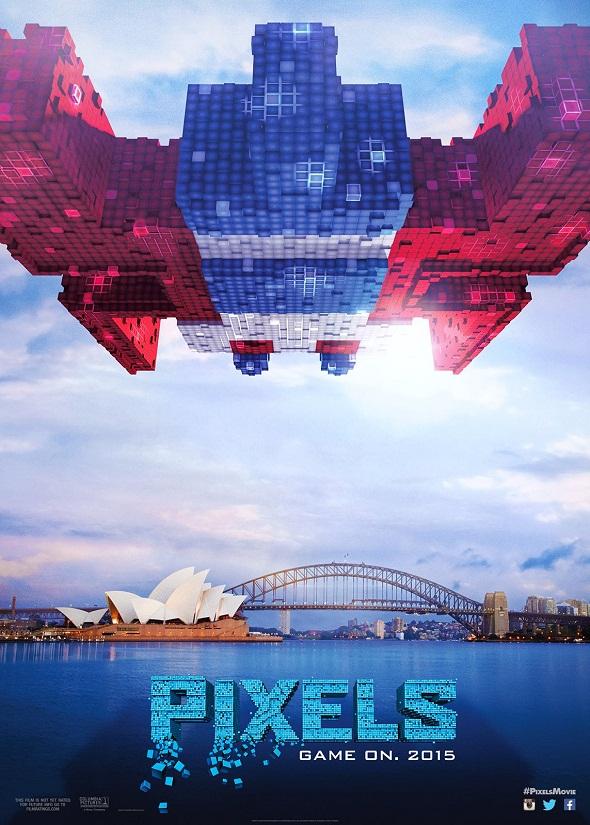 Nuevo póster de 'Pixels'