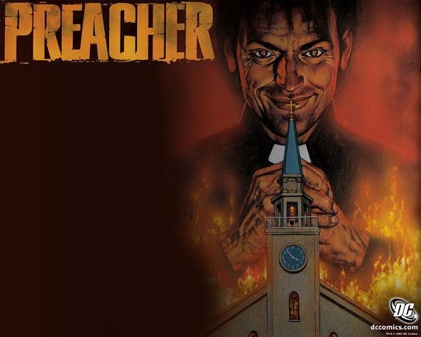 Una imagen del cómic 'Predicador (Preacher)'