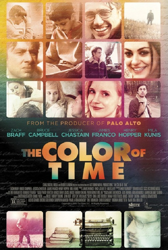 Póster de 'The color of time'