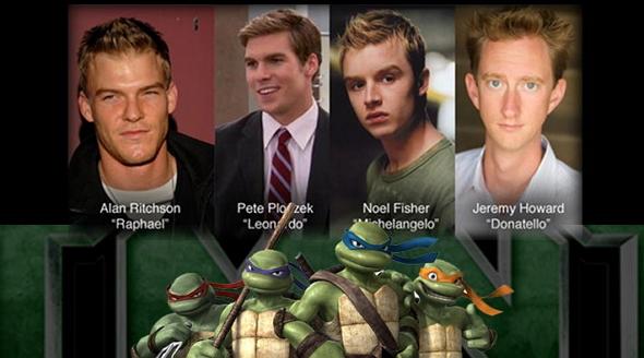 El reparto de actores que hay detrás de 'Las Tortugas Ninja'