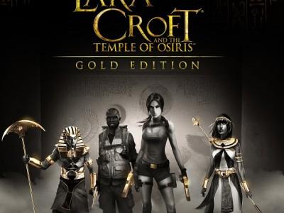 Portada del juego de PS4 Lara Croft y el Templo de Osiris
