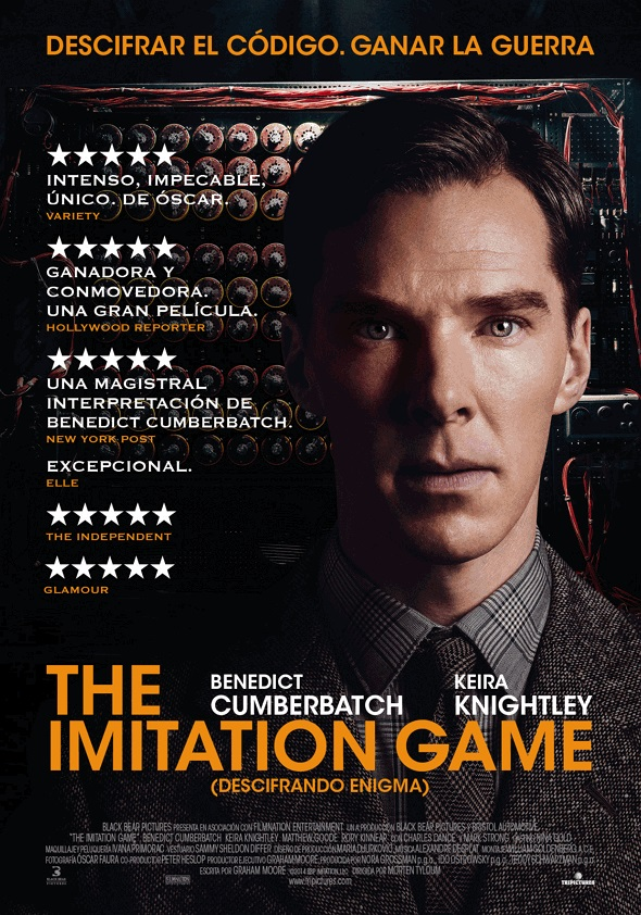 Póster para The imitation game
