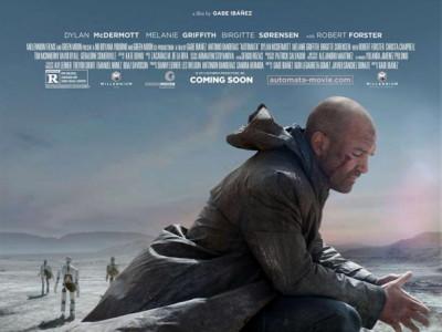 Póster original de la película Autómata, de Antonio Banderas