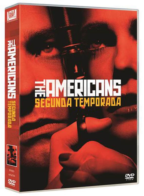 Carátula DVD de la segunda temporada de 'The Americans'.